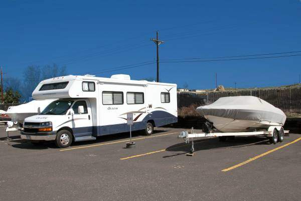 Storage for Boats, RV's